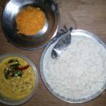 കഞ്ഞിക്കുള്ള കറികള് – തേങ്ങ ചമ്മന്തി / coconut chutney / thenga chammanthi